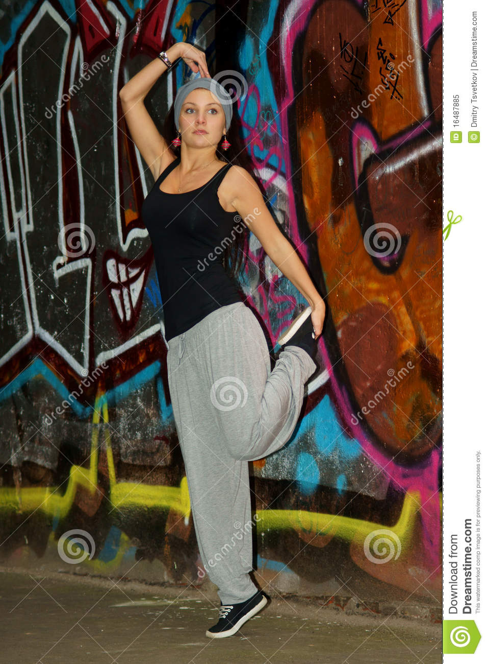 Female Hip-hop Dancer Royalty Free Stock Photo - Image ...