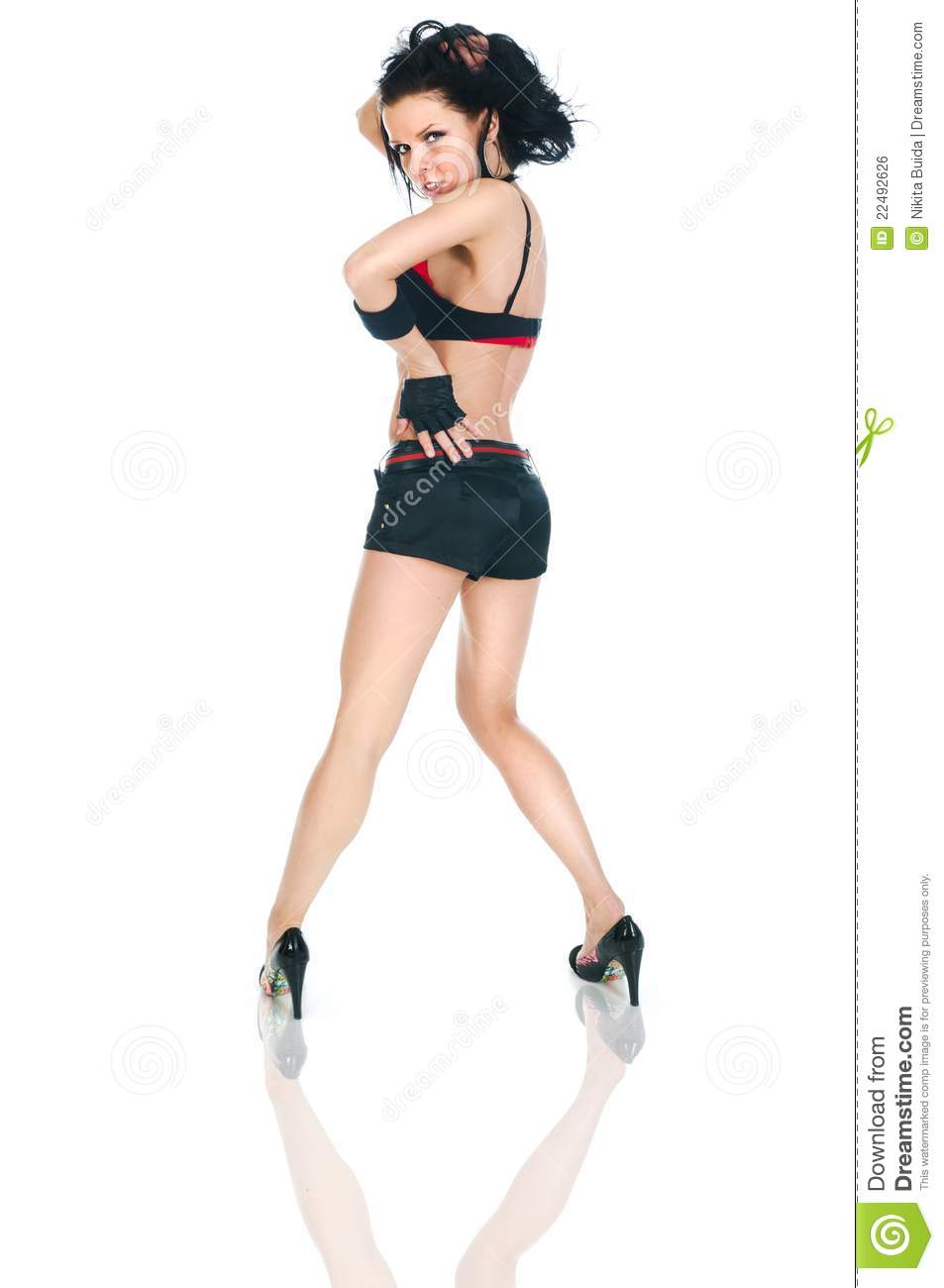 Female Hip-hop Dancer Royalty Free Stock Image - Image ...