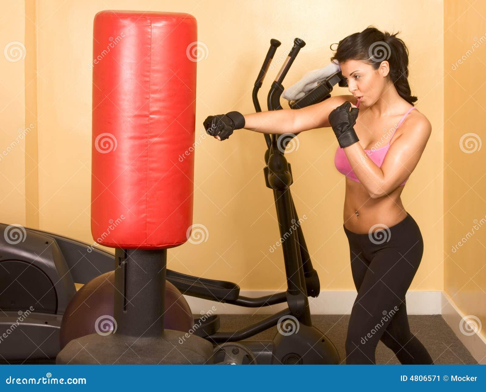 тренировка с грушей для похудения