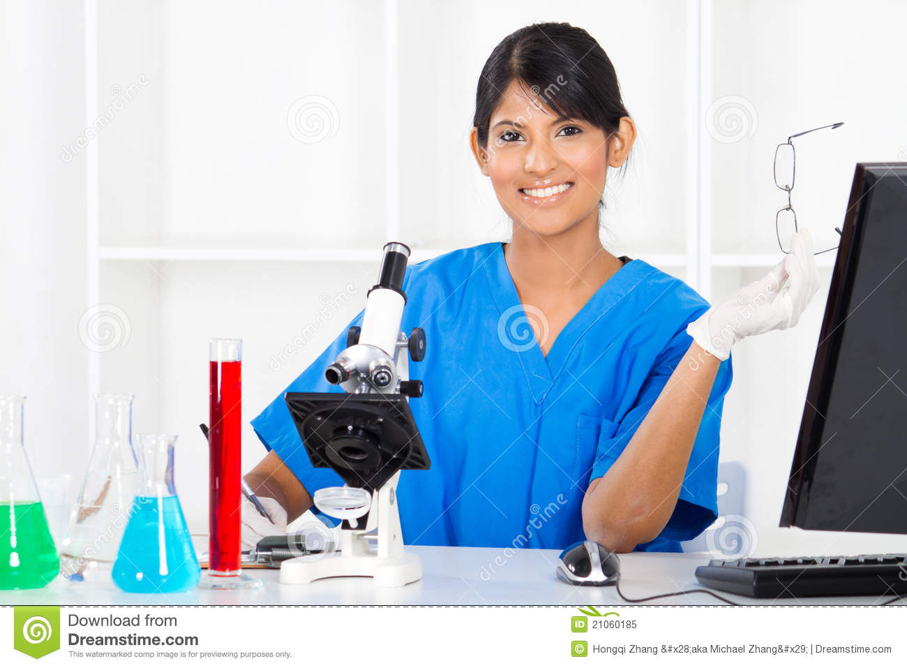 Indian Lab Technician Stock Photos, Images, & Pictures - 148 Images