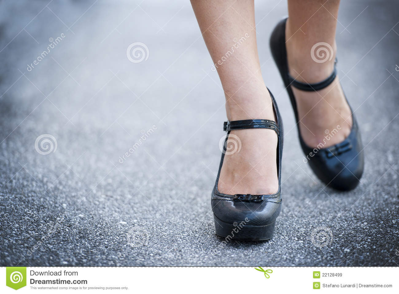 legs and high heels shoes royalty free stock images