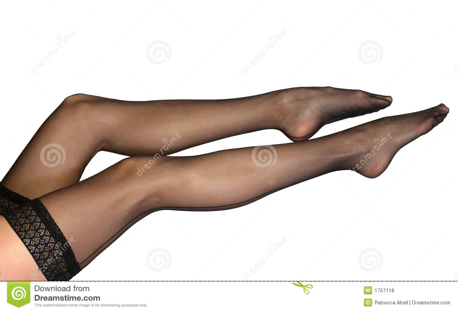 Фото нейлон на ножках