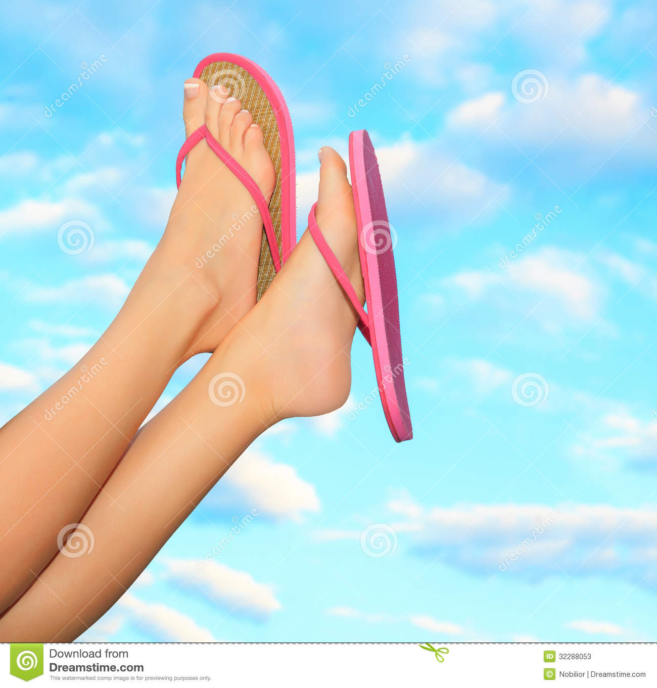 e8a16d35ff2d26 Female Legs In Pink Sandals Stock Image - Image of fashion ...