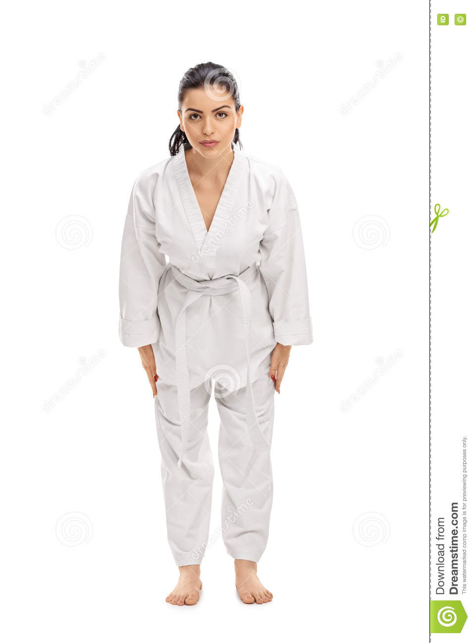 Female martial artist bow down and greeting someone stock photo download female martial artist bow down and greeting someone stock photo image of beginner m4hsunfo