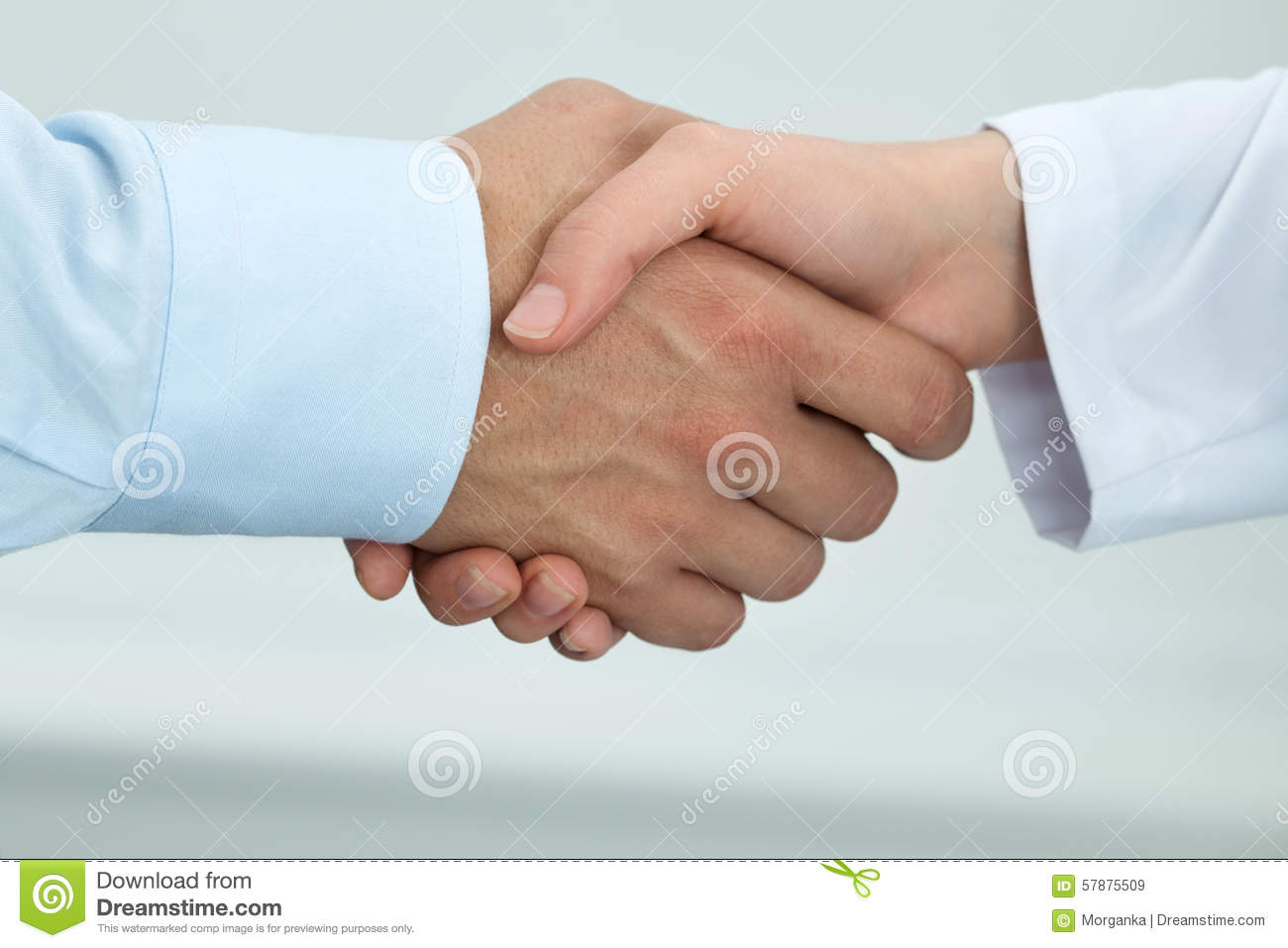 Male Doctor With Female Client Royalty-Free Stock Photo -5256