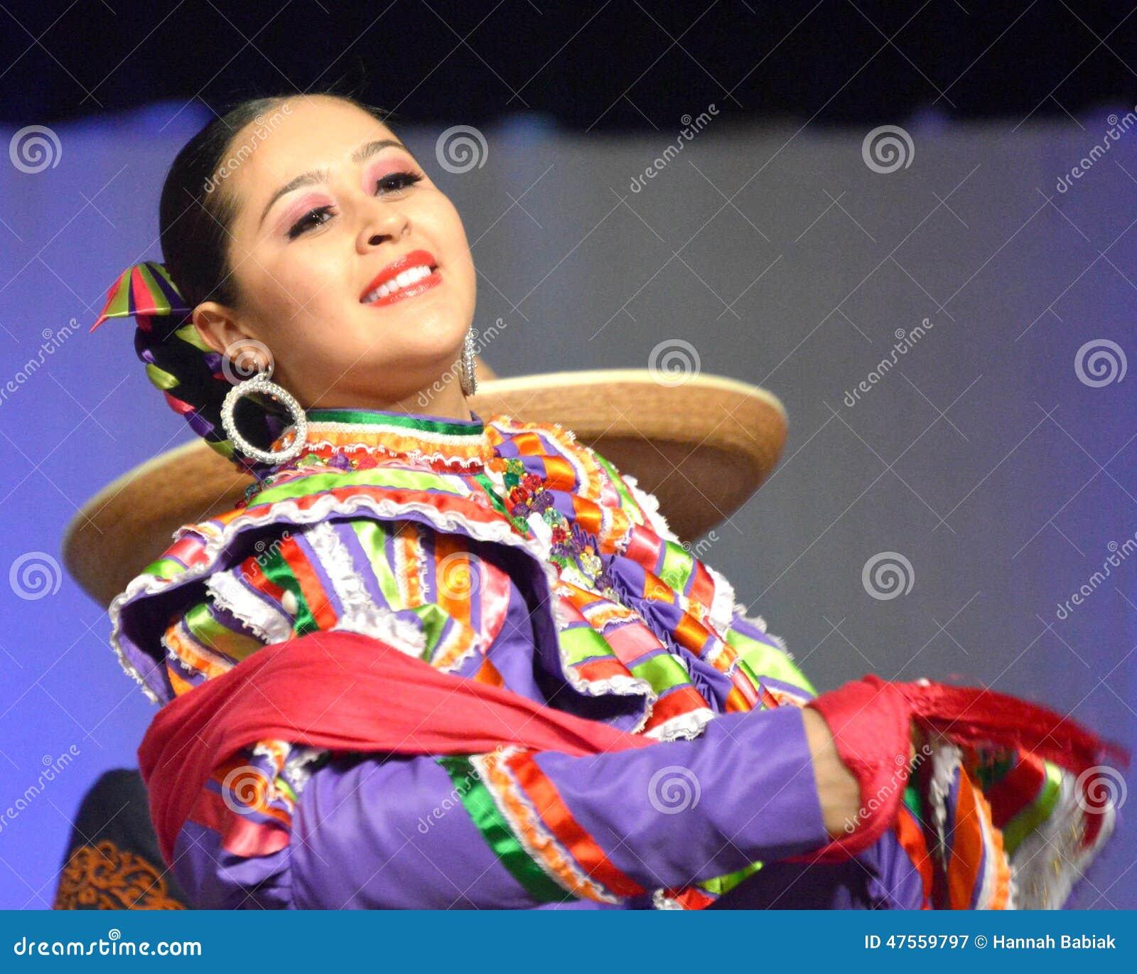 Female Mexican Dancer