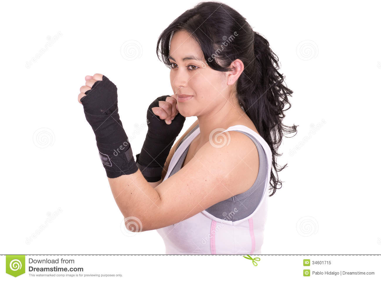 image Female martial artist 12
