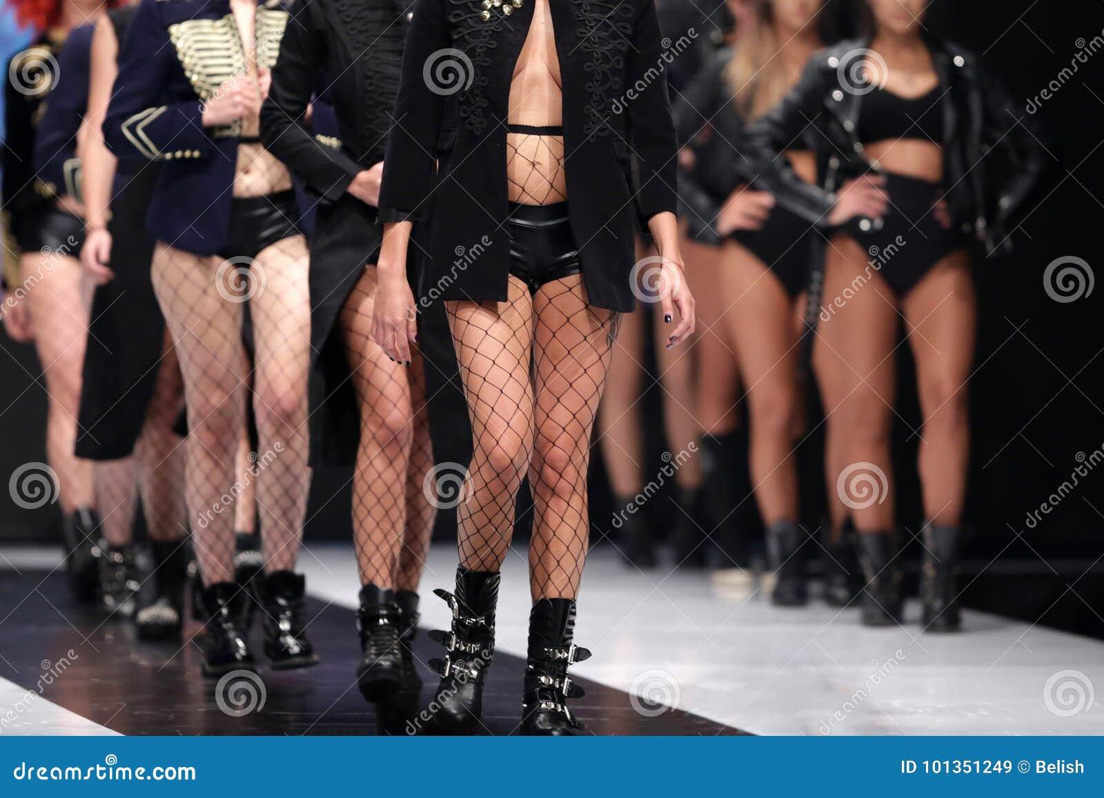 catwalk naked