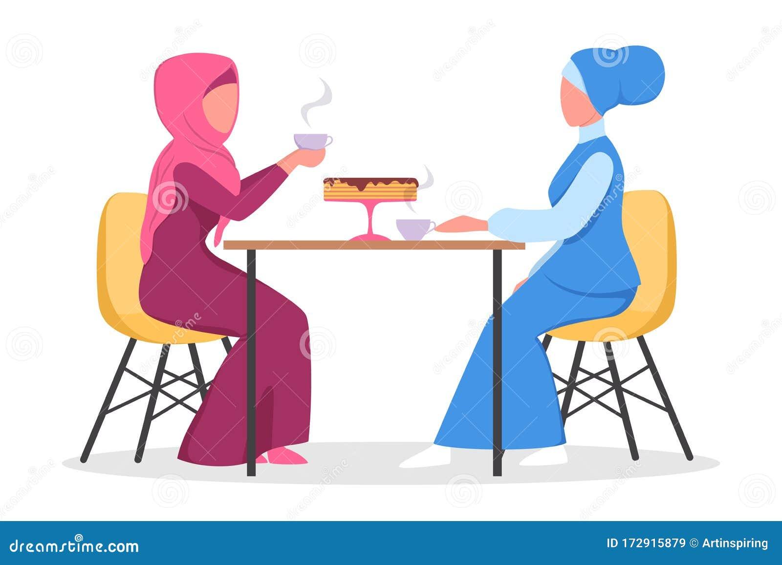 Muslim Cafe Stock Illustrations 650 Muslim Cafe Stock Illustrations Vectors Clipart Dreamstime