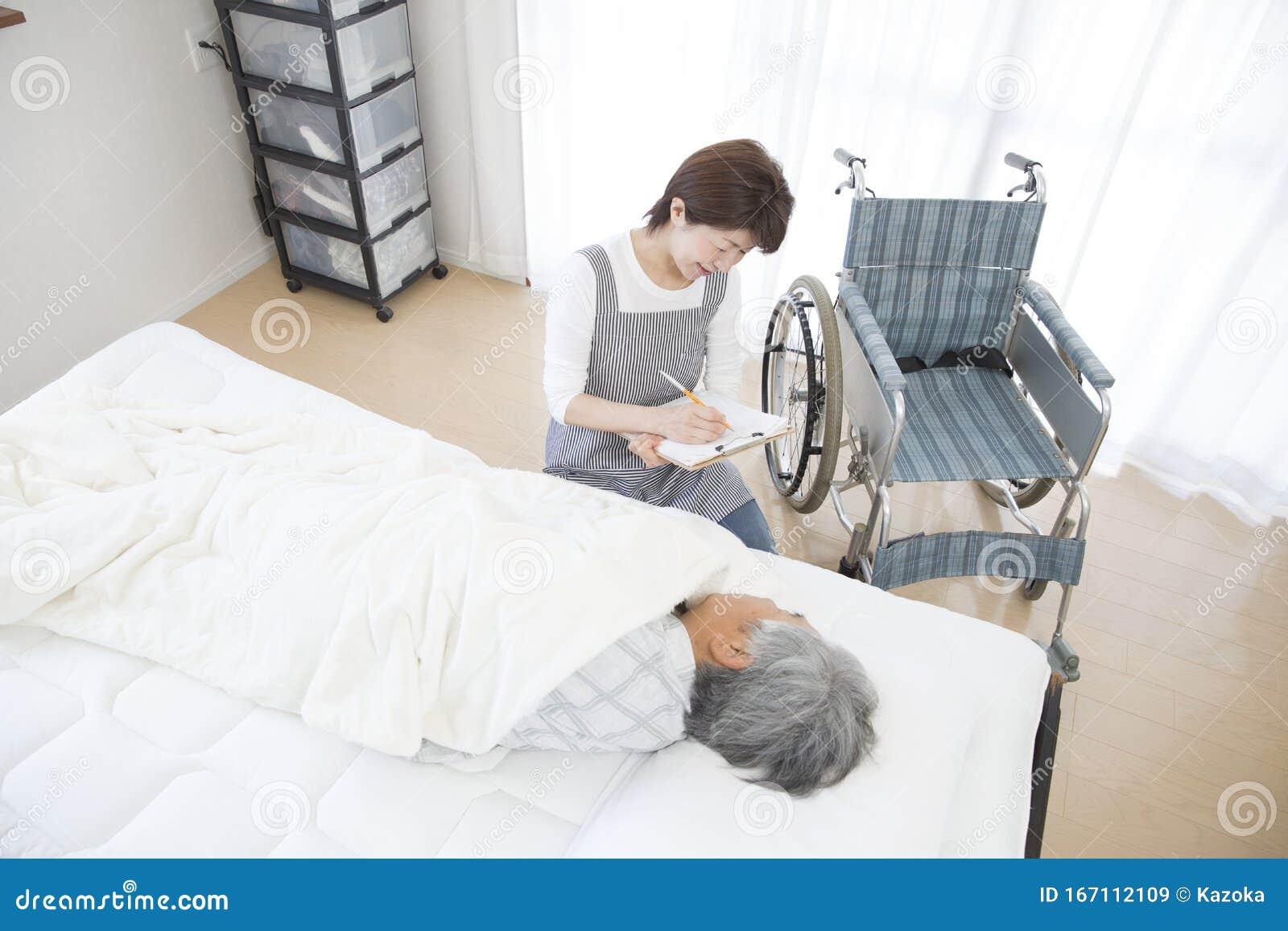 Home Care Inquiring Female Helper Stock Image Image Of People Indoor 167112109