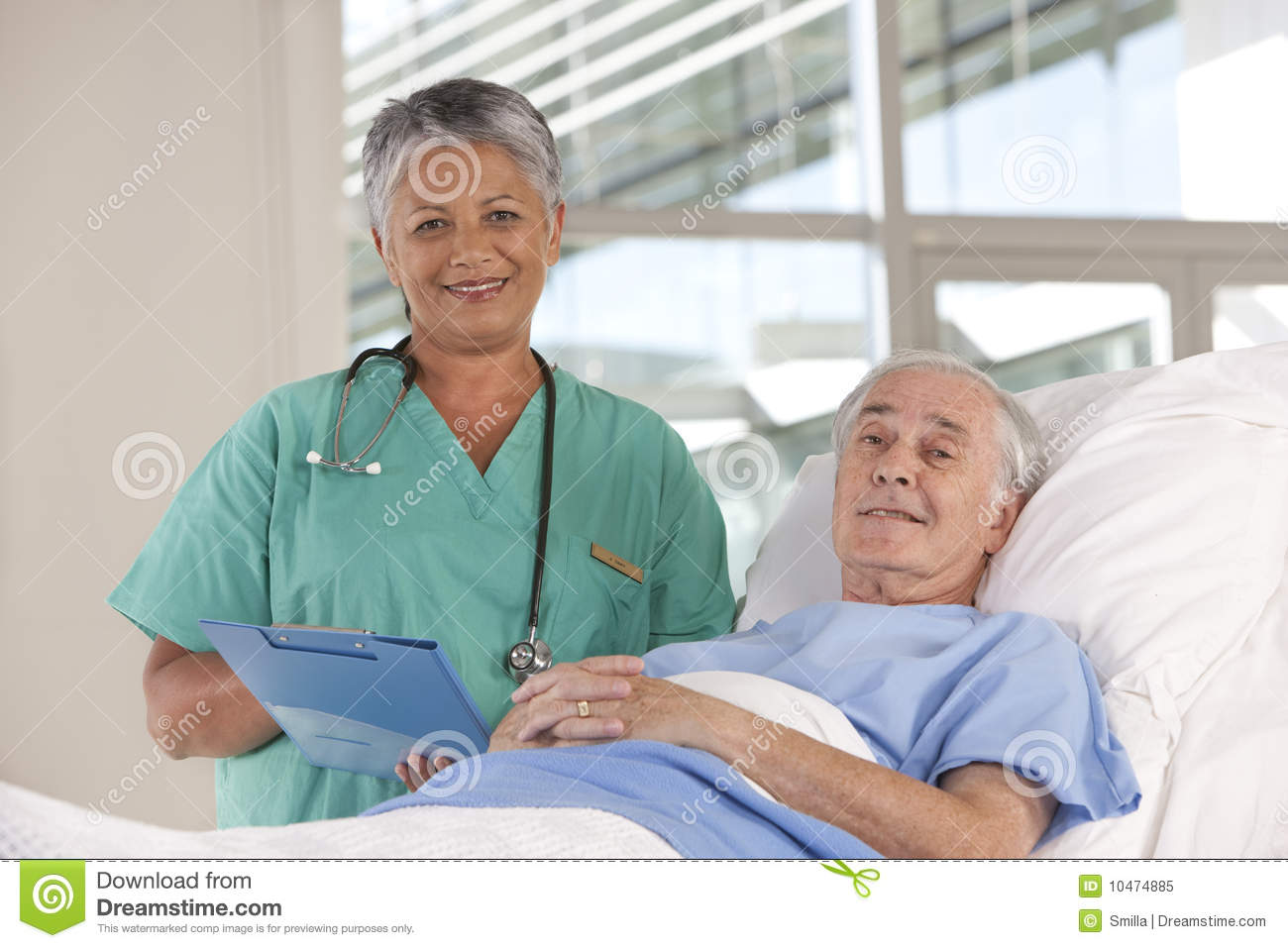 Female Nurse And Patient Royalty Free Stock Photo - Image ...