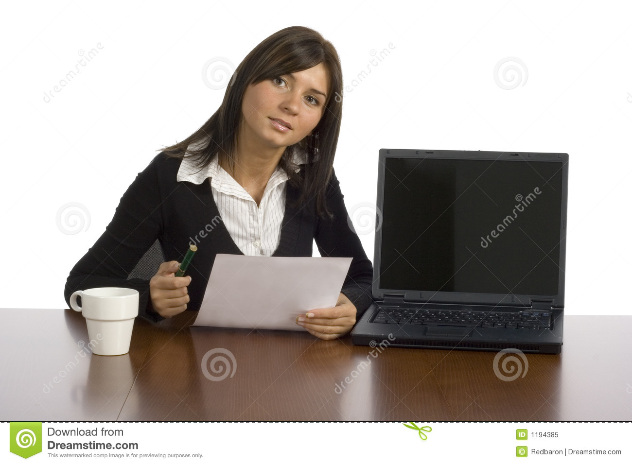 Female Office Worker Royalty Free Stock Photo Image 1194385