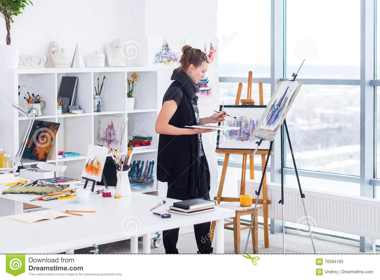 painter women Walk into some art museums, and you are much more likely to see a woman depicted in a work of art than see a piece created by a woman by some estimates, over 50% of visual artists are women, but [].