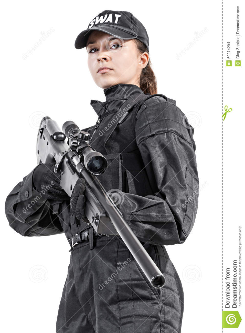 Female Cop Uniform 24