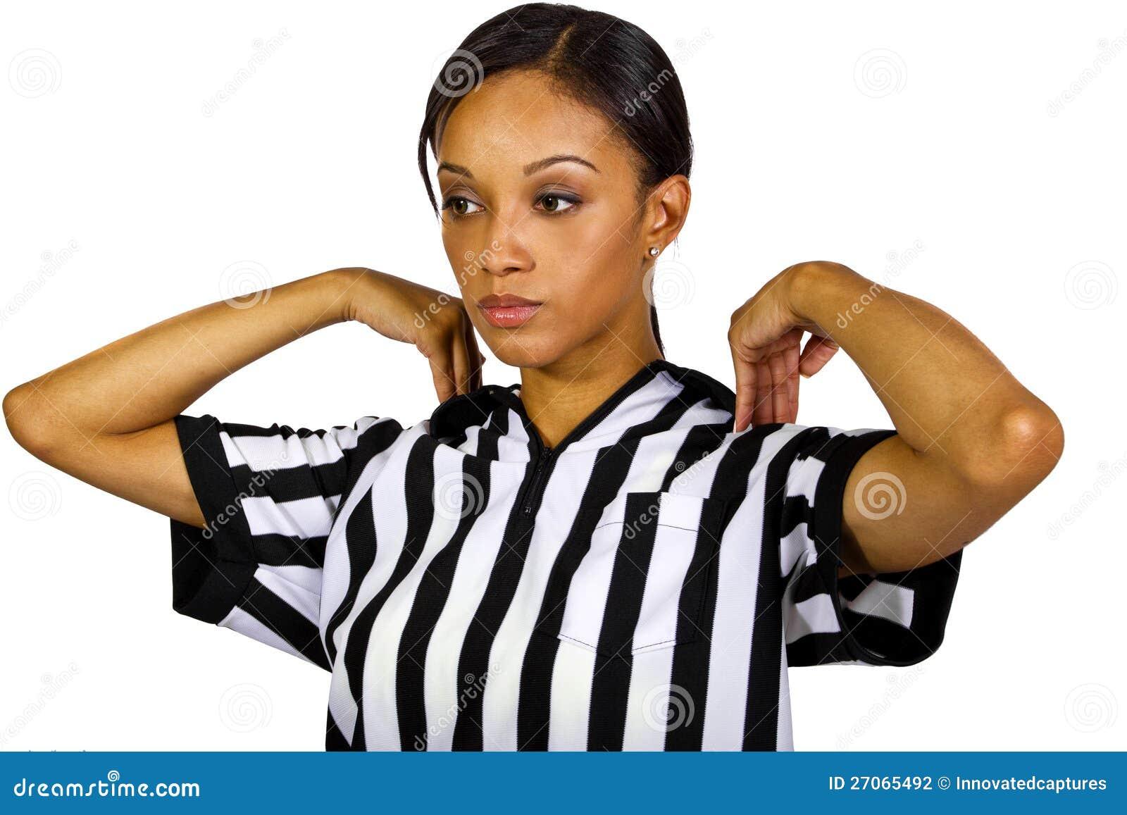 Female Referee Stock Photo. Image Of Foul Person Beautiful - 27065492