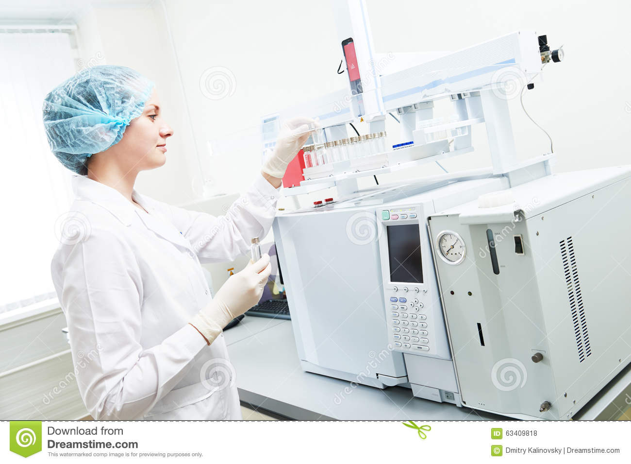 use of gas chromatography in pharmacy