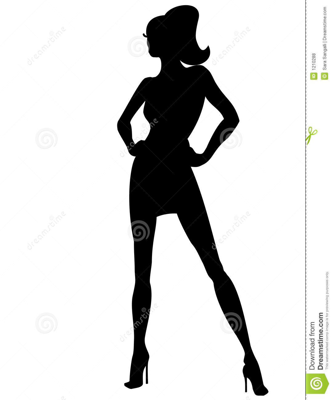 Female Silhouette Stock Photos Images Pictures