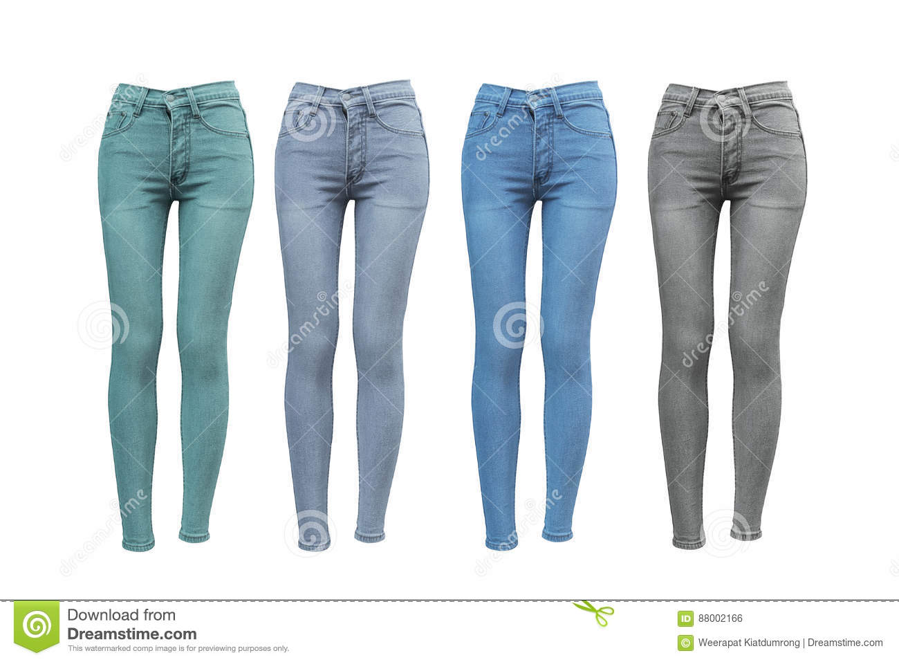 What to wear with skinny jeans of different colors