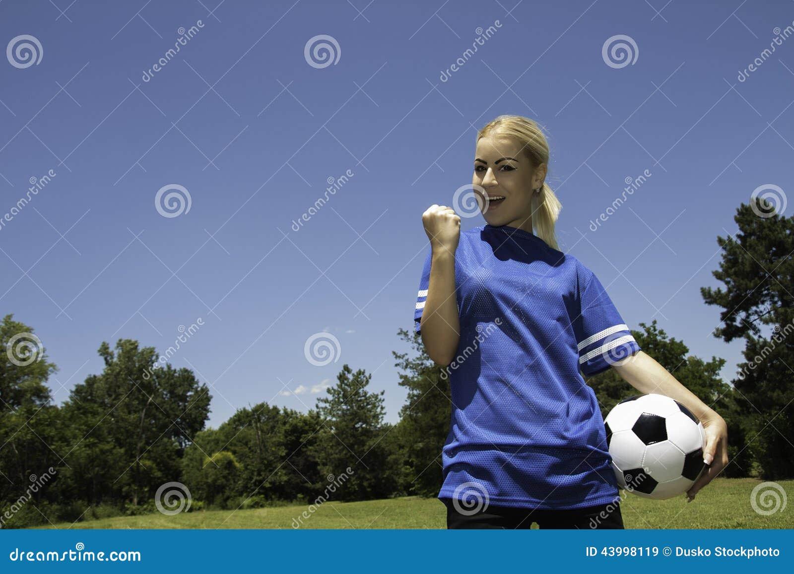 Female soccer player