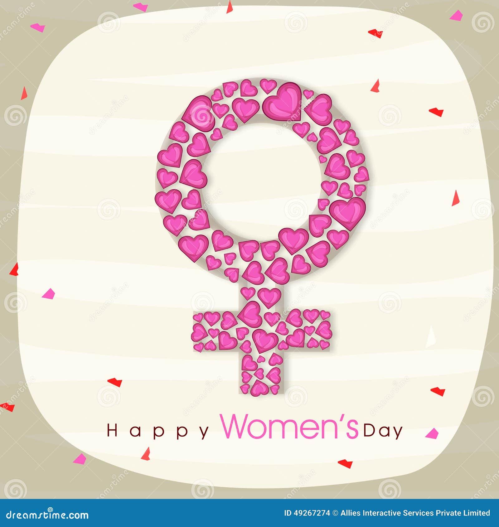 Female symbol for international womens day celebration stock female symbol for international womens day celebration biocorpaavc Choice Image
