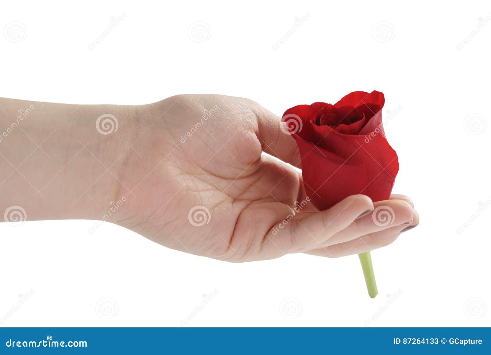 Thumbs rose teen