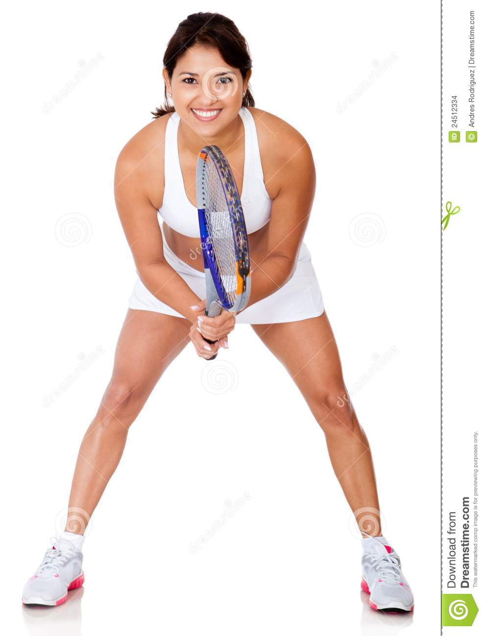 More similar stock images of female tennis player