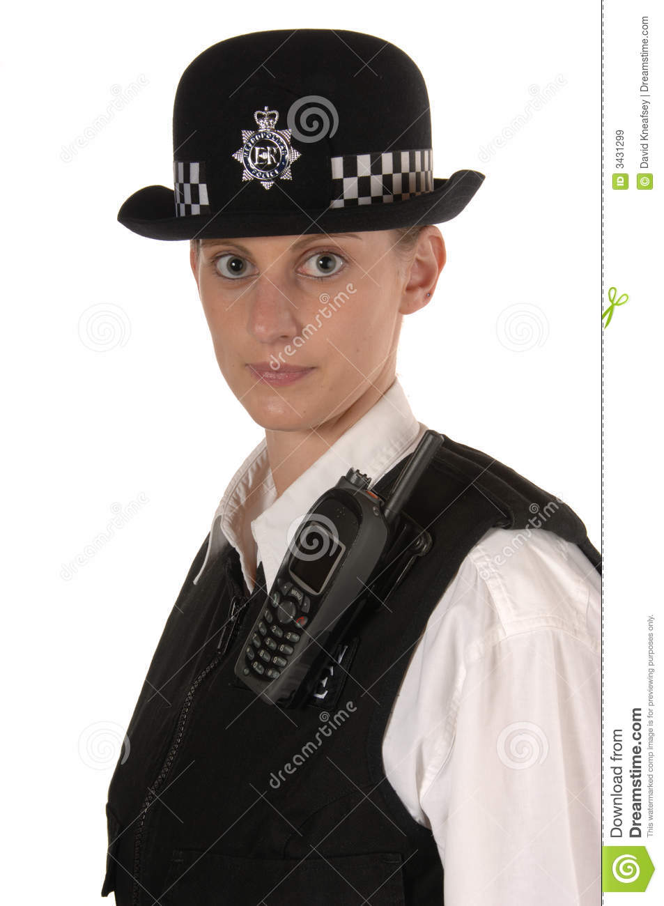 Female Uk Police Officer Royalty Free Stock Images Image