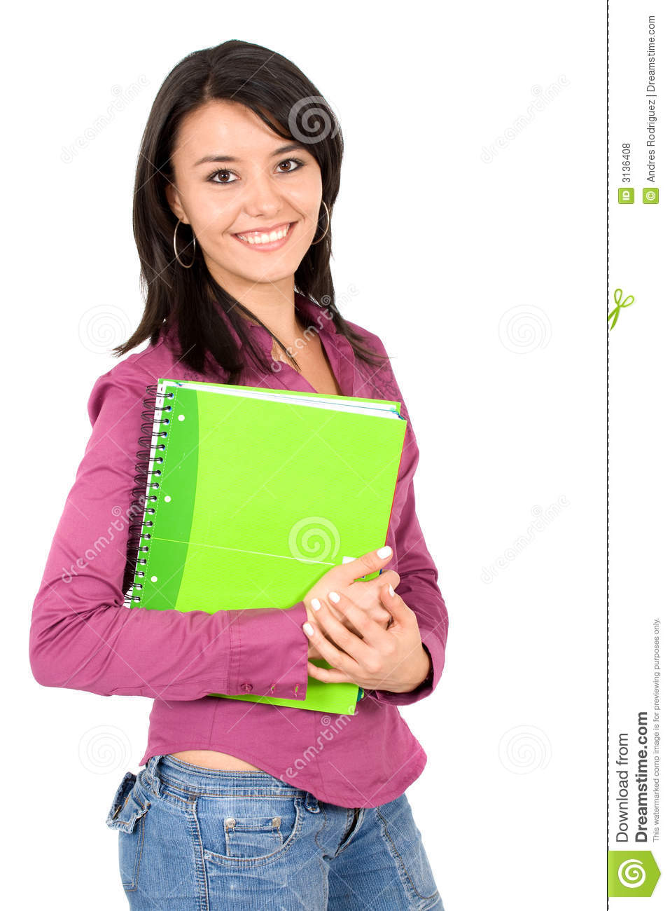 Female University Student Royalty Free Stock Photos - Image: 3136408