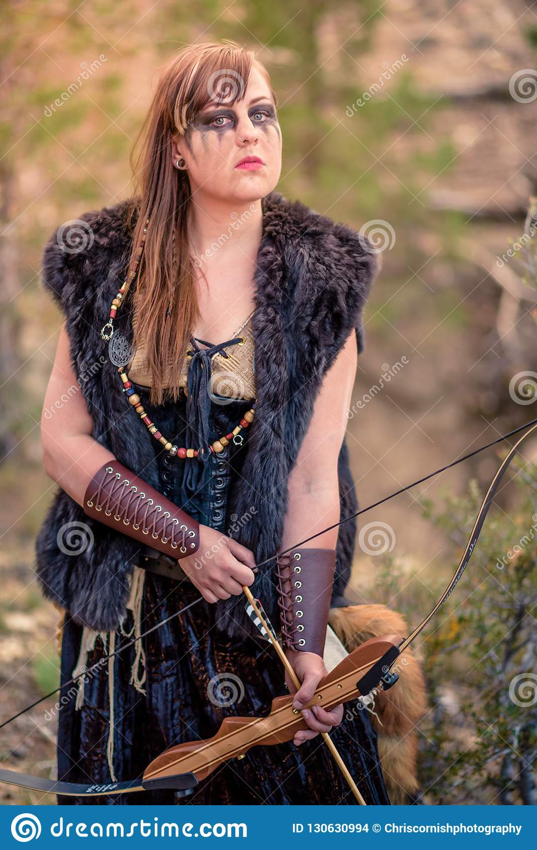 female viking portrait, nordic runes, norway