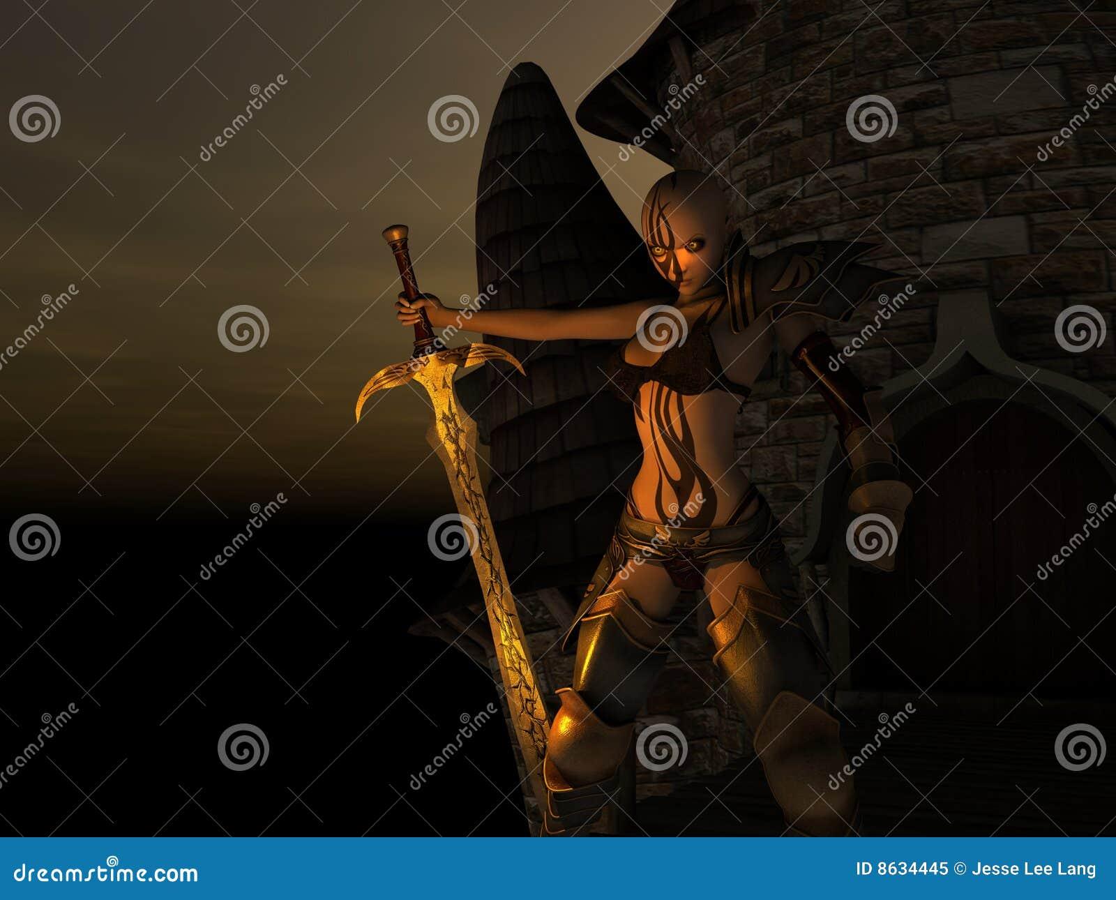 Warrior queen | high n' heavy.