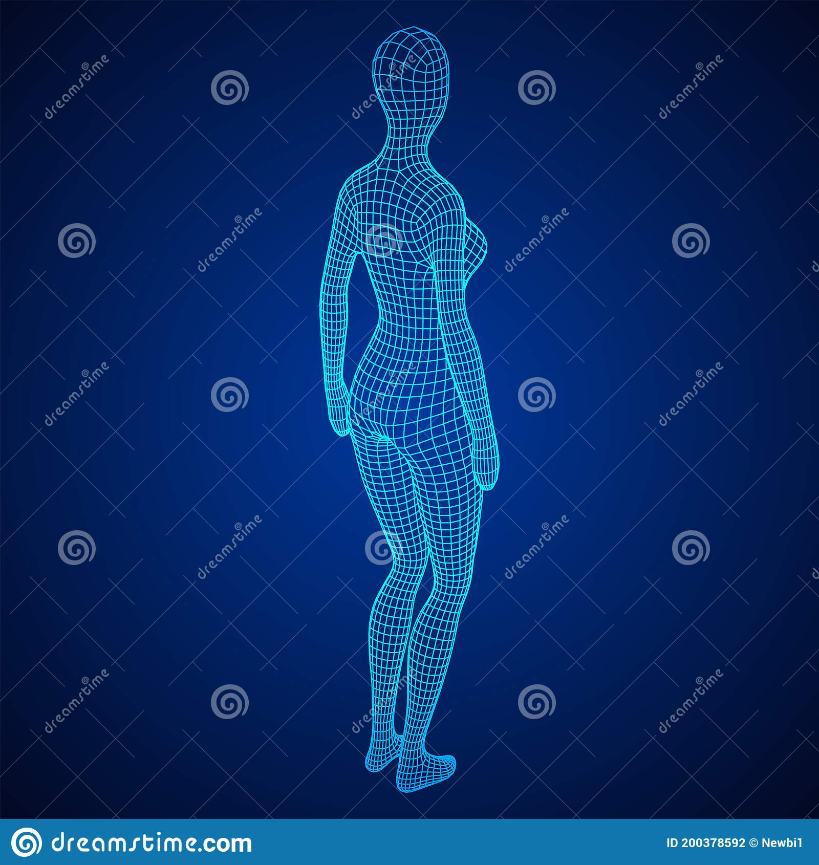 Female Or Woman Anatomy Body Biology Medicine Education Concept Stock Vector Illustration Of Health Conceptual 200378592