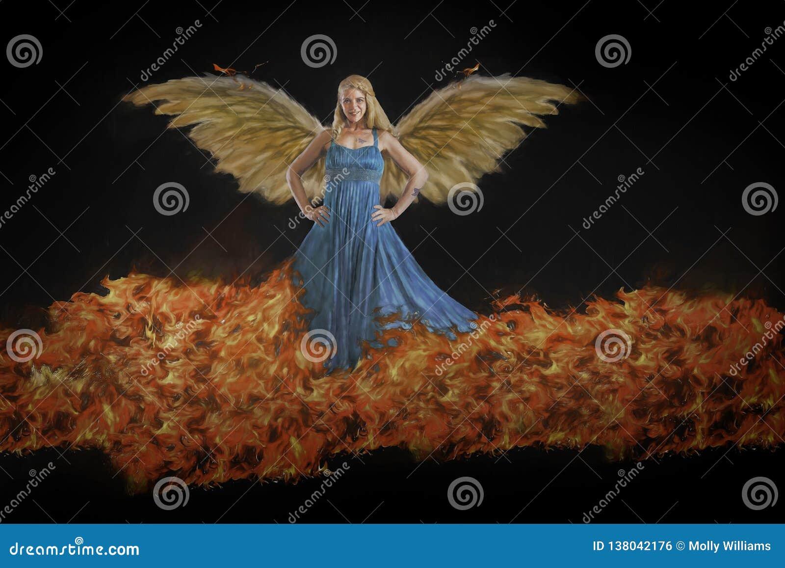 Femelle à ailes