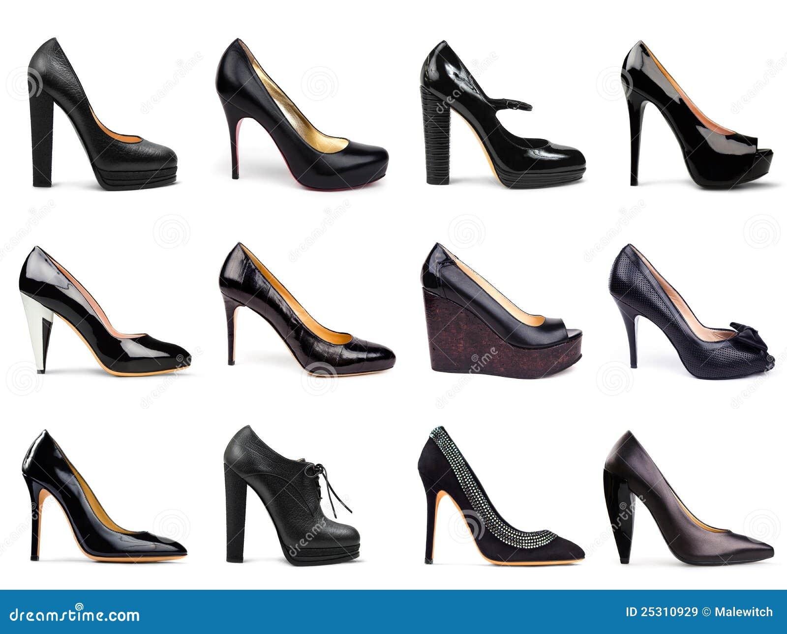 Femelle foncée shoes-6