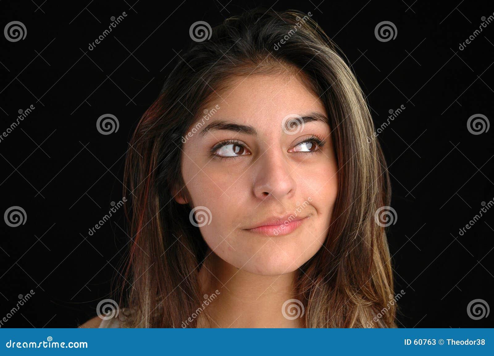 Download Femelle portrait-1 image stock. Image du sexy, affaires - 60763