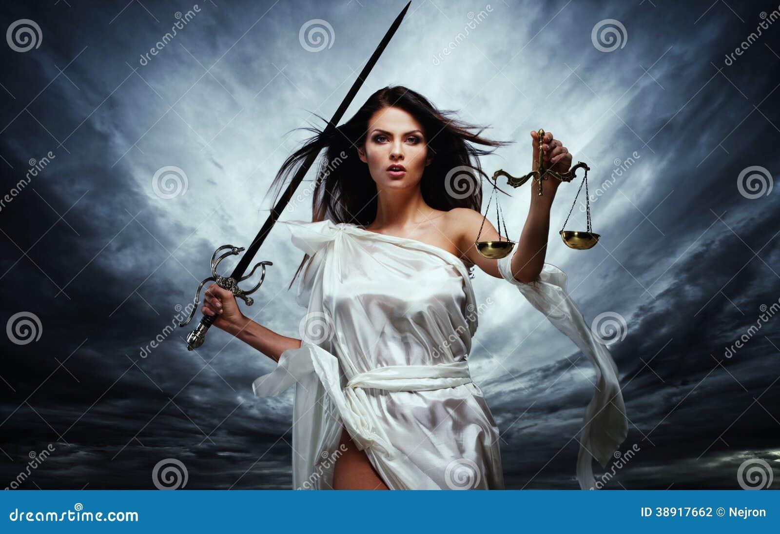 Femida, богиня правосудия