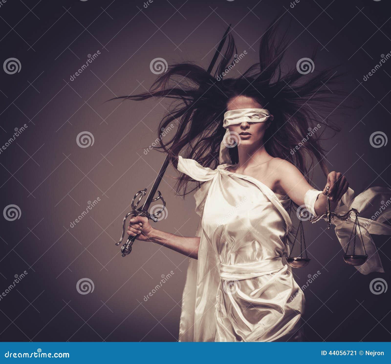 Femida, Göttin von Gerechtigkeit
