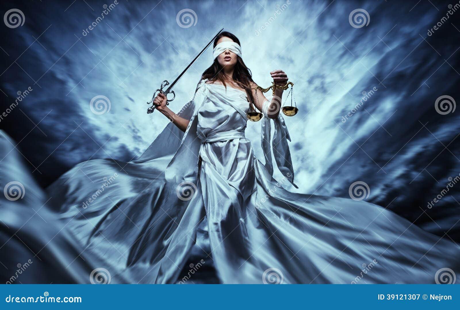 femida goddess of justice stock image image of dramatic