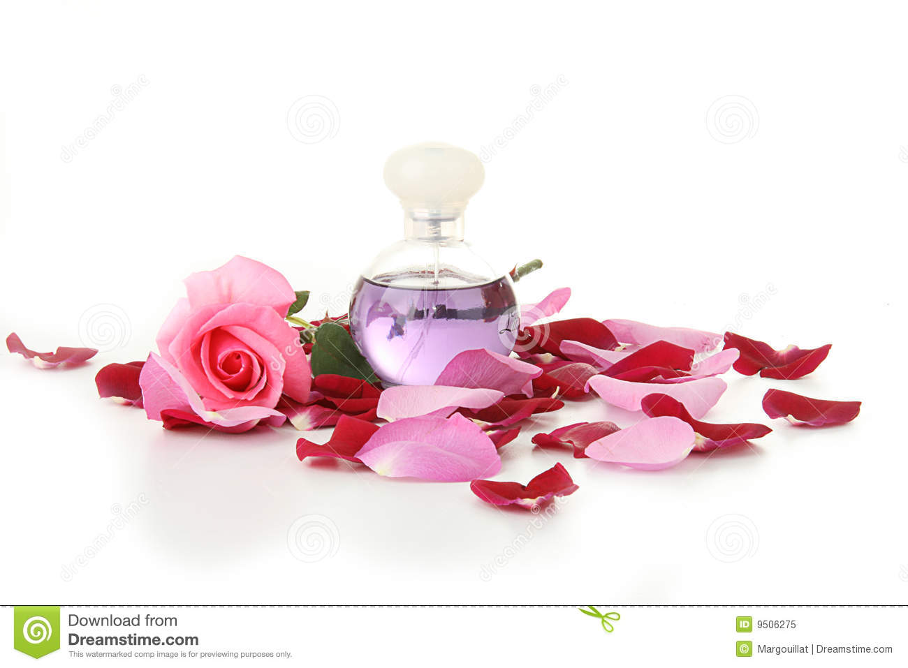 feminity  bottle of perfume and rose petals stock image bathroom background music bathroom background clipart