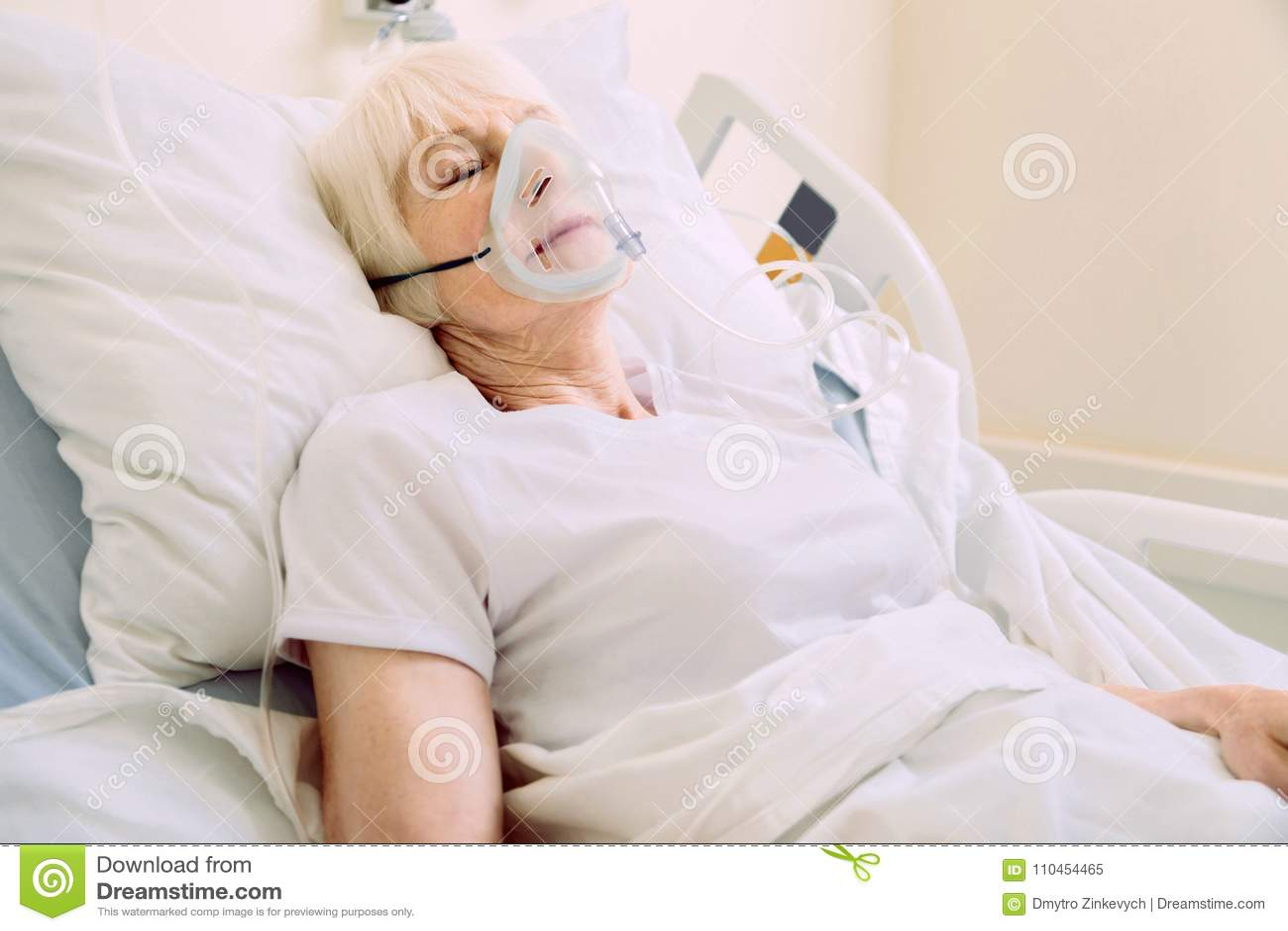 masque respiratoire hopital