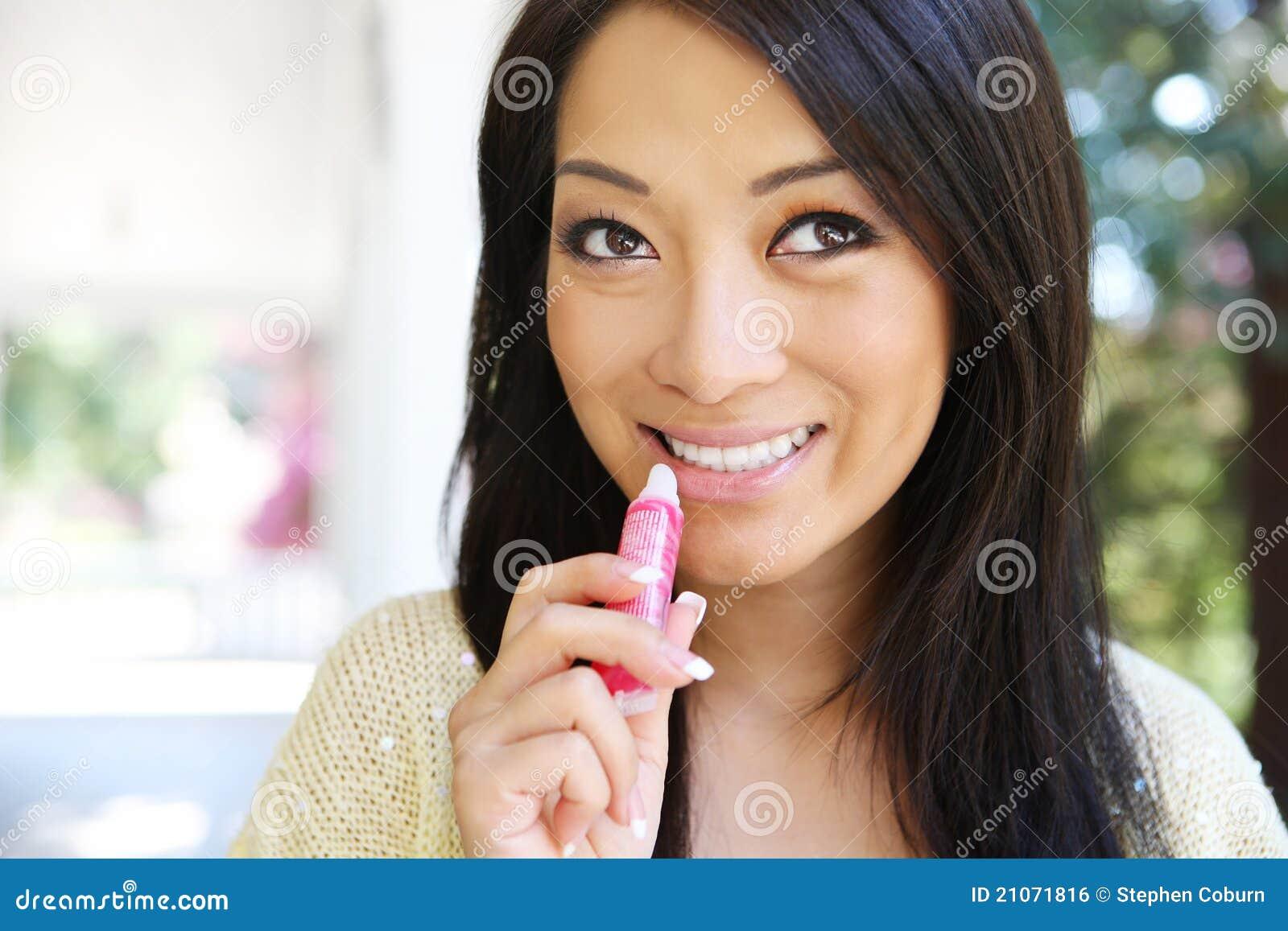 Les hommes blancs et les femmes asiatiques: la fivre