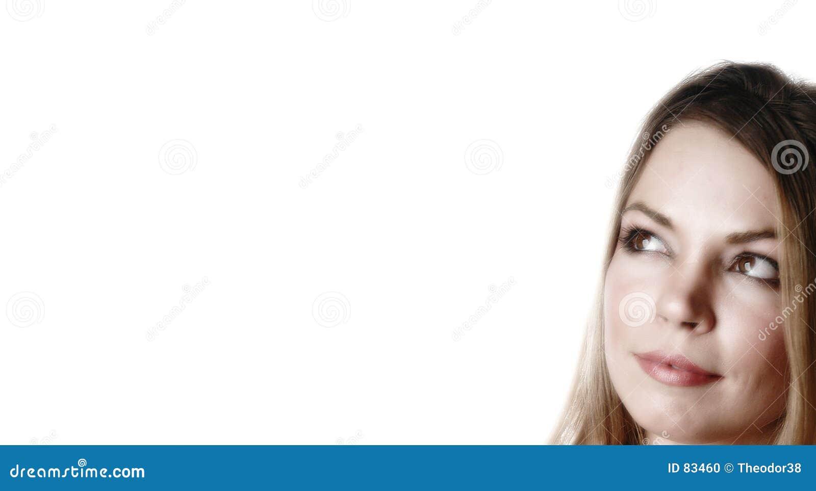 Femme attirant