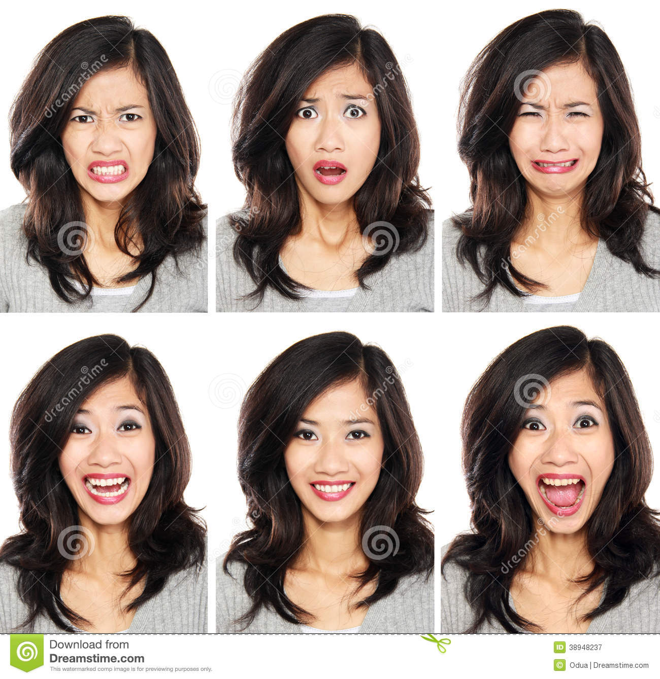 how to make model face expressions