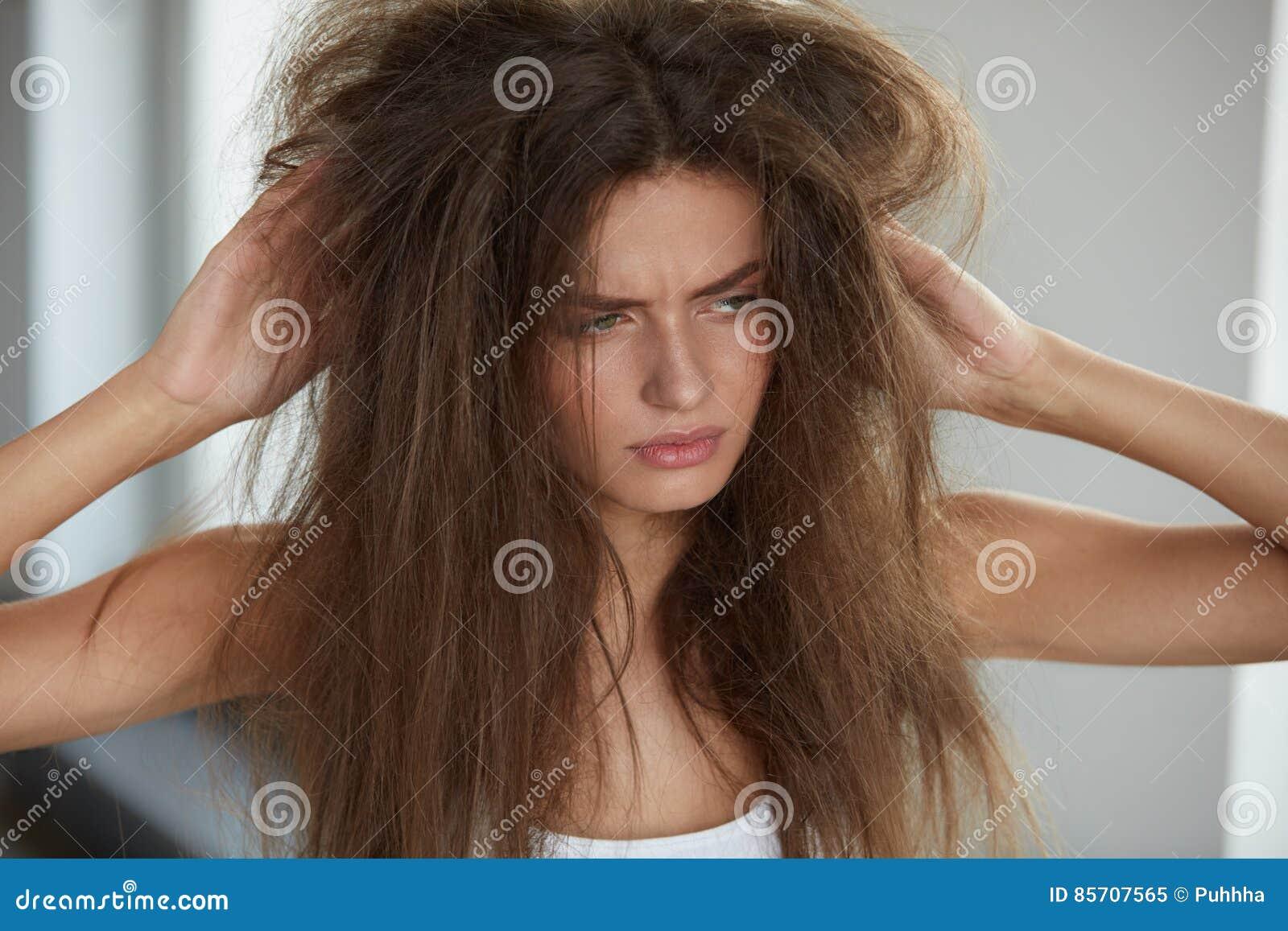 Cheveux secs femme enceinte