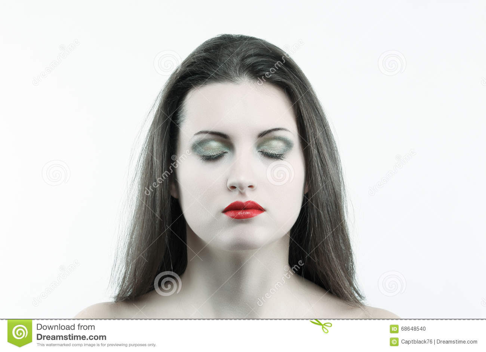 femme peau blanche