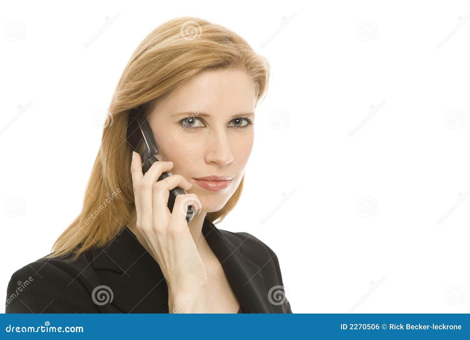 Telephone de femme libre