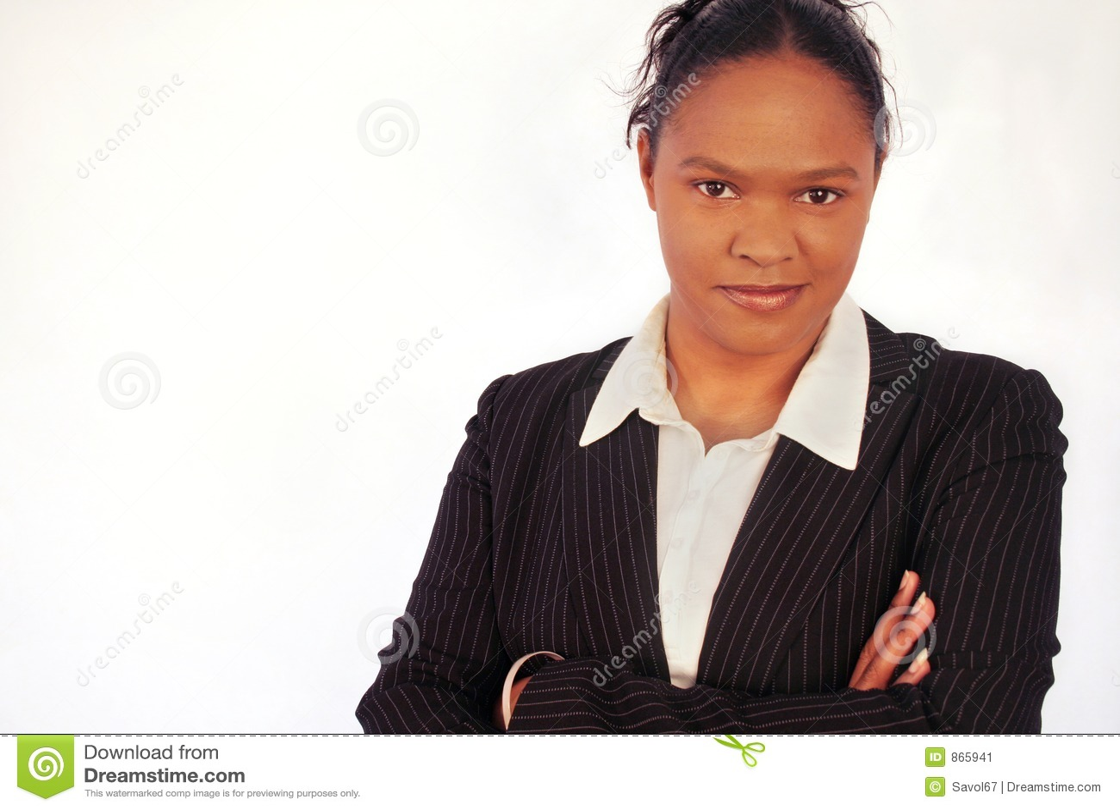 Femme d affaires - diversité