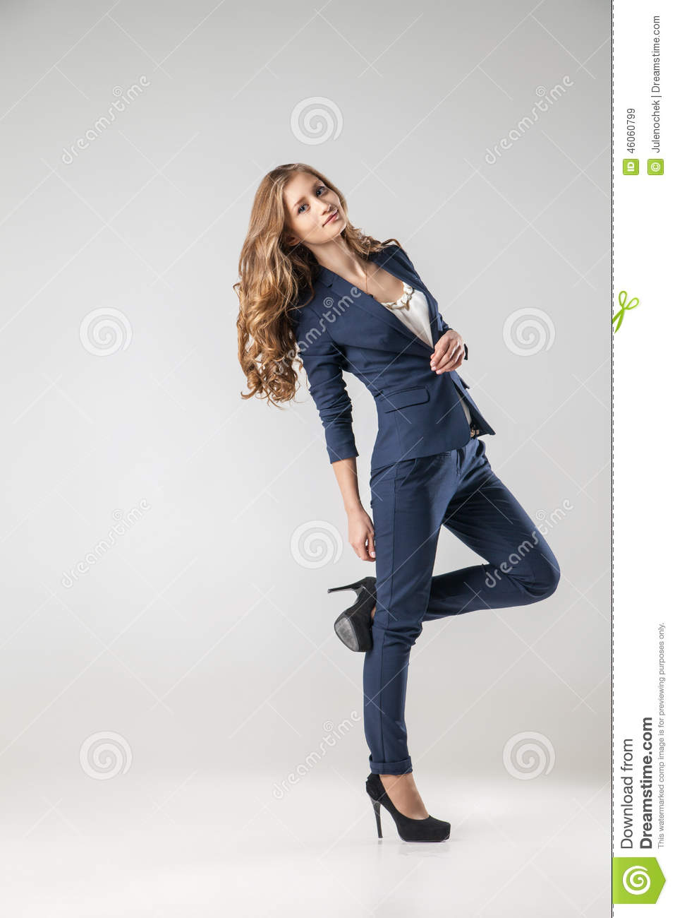 photo stock femme d affaires habille dans des vtements image