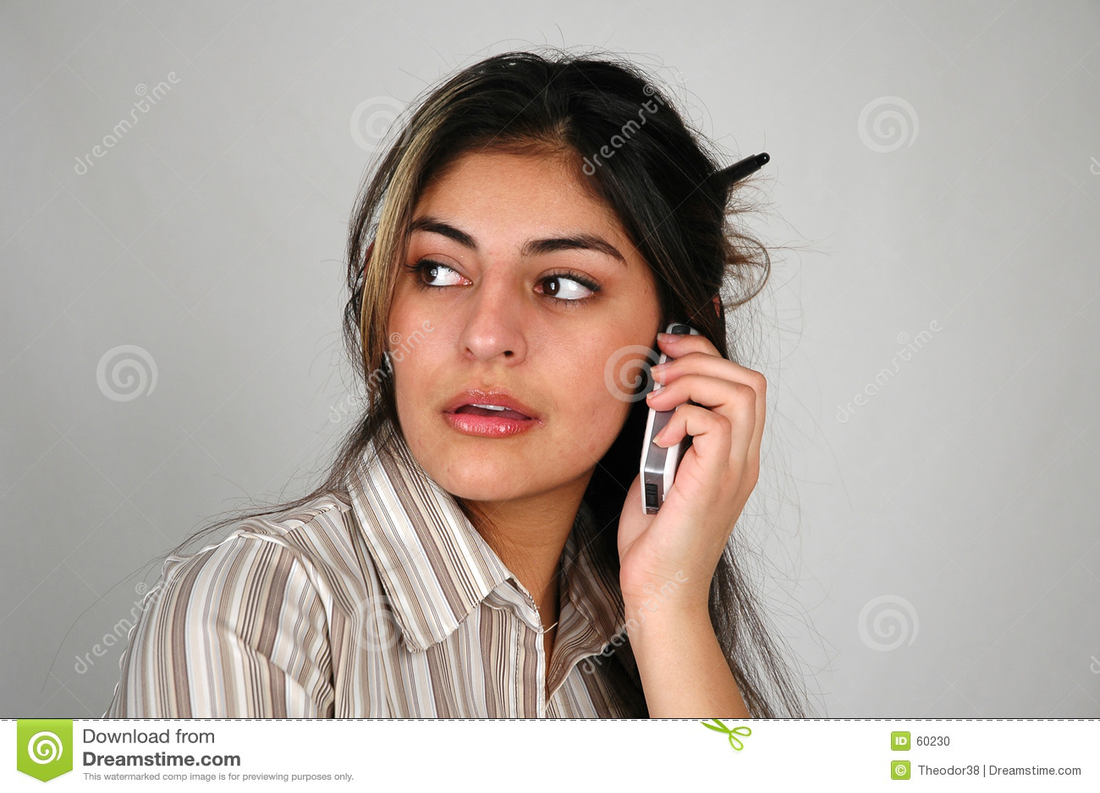 Download Femme D'affaires Sur Le Cellphone-8 Photo stock - Image du beauté, businesswoman: 60230