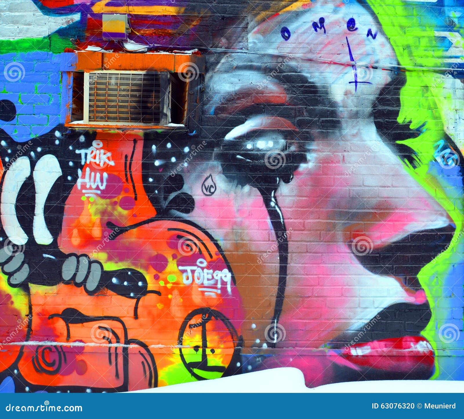 Download Femme d'art de rue image éditorial. Illustration du milieux - 63076320