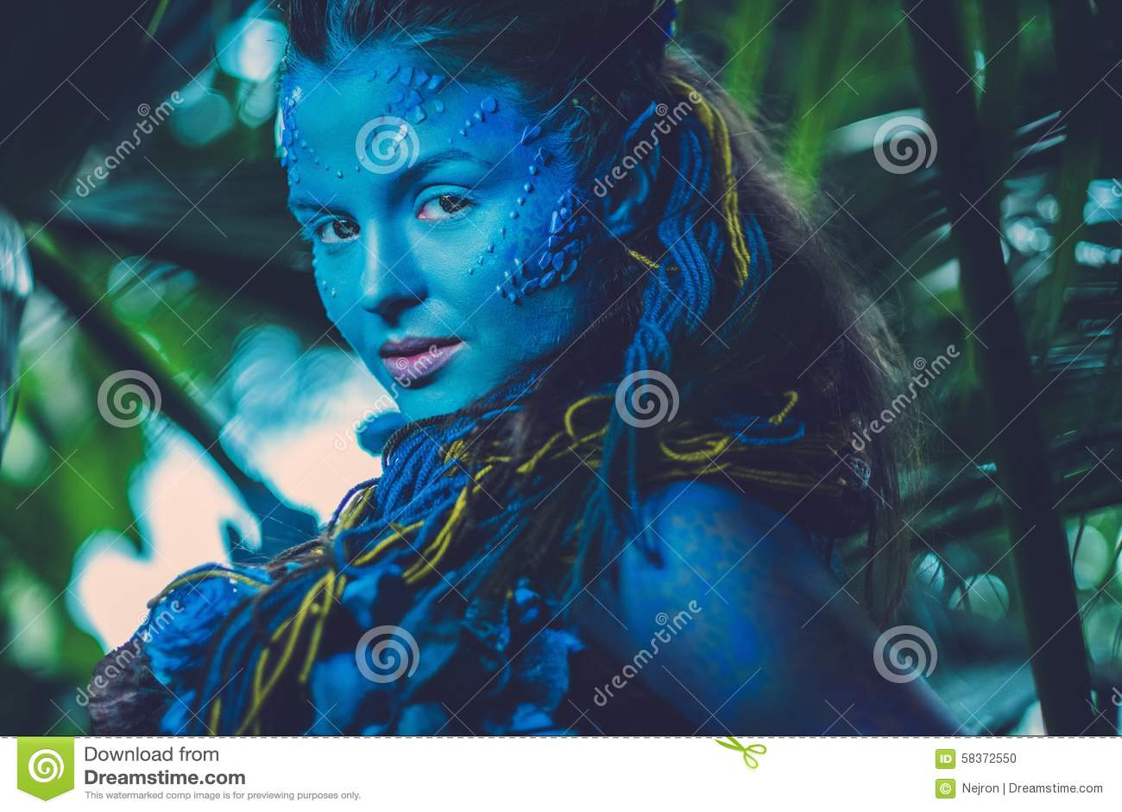 Femme d avatar